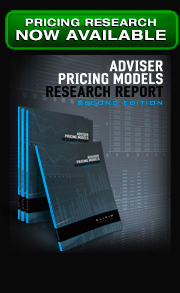 Adviser Pricing Models Research Report available now
